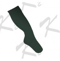 Plain Baseball Socks Forest