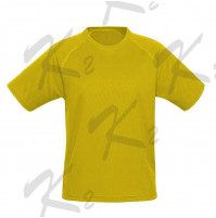 Drifit Short Sleeve Undershirt Yellow