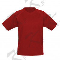 Drifit Short Sleeve Undershirt Red