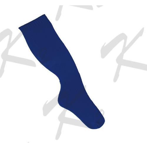 Plain Baseball Socks Royal