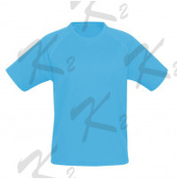 Drifit Short Sleeve Undershirt Light Blue