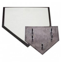 Line Drive Heavy Duty Rubber Home Plate 5 Spike