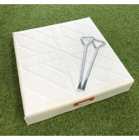 Line Drive Strap Down Foam Base - Single Base