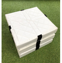 Line Drive Velcro Foam Base -  3 Base Set