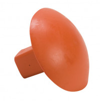 Line Drive Rubber Base Marker Orange
