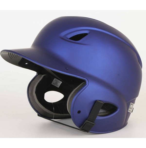 MVP Adjustable Dial Fit Batting Helmet Navy Matte