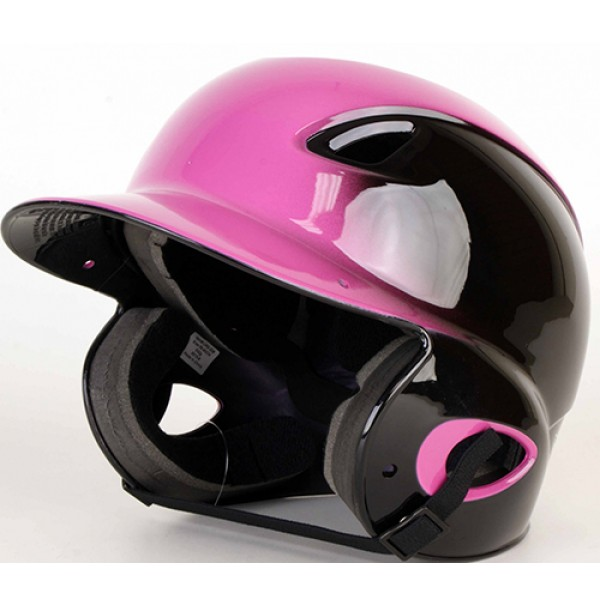 MVP Adjustable Dial Fit Batting Helmet Pink/Black