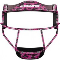 Champro Sports The Grill Softball Fielder's Face Mask Pink Camo