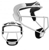 Champro Sports The Grill Softball Fielder's Face Mask Silver