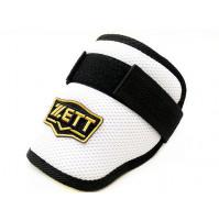 ZETT Pro Adjustable Baseball Elbow Guard - White/Black