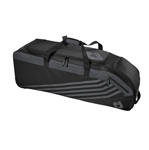 Demarini Momentum Wheeled Bag 2.0 - Black