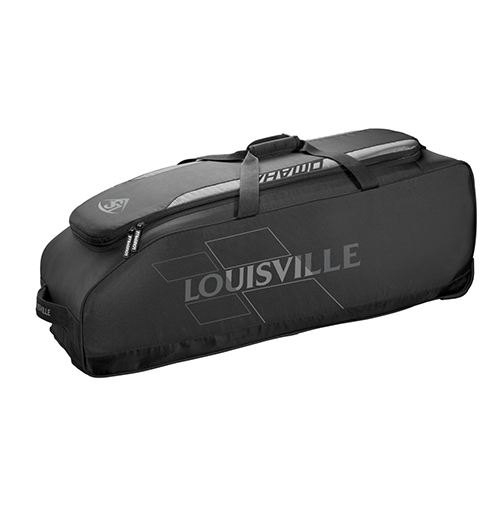 Louisville Omaha Rig Wheeled Bag - Black