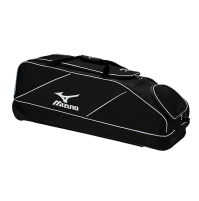 Mizuno Classic Wheel Bag Black