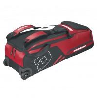 Demarini Momentum Wheeled Bag Scarlet