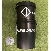 Line Drive K100 Official Senior League Match Ball - Bucket Combo 3 DOZEN