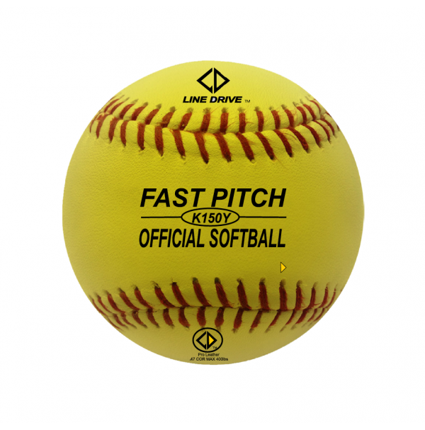 Line Drive K150Y Official Senior Match Softball - EACH