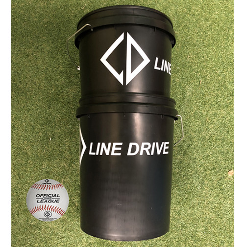 Line Drive K200S Official Senior League Match Ball - Bucket Combo 3 DOZEN