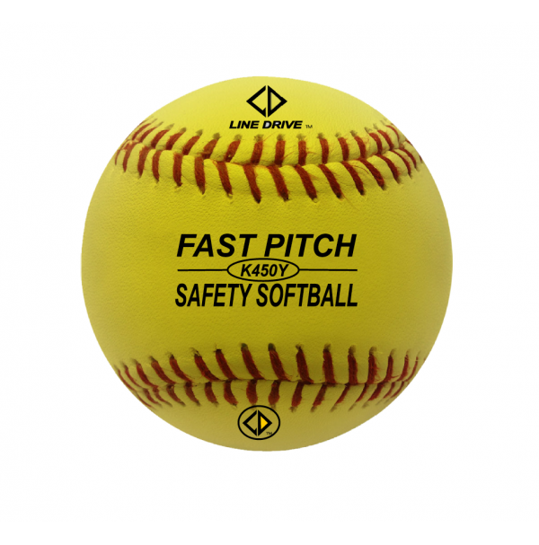 Line Drive K450WY Official Youth League Safety Softball - EACH